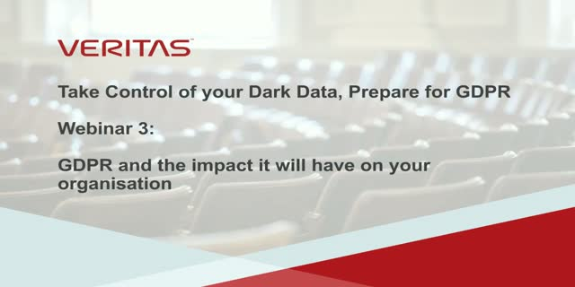 GDPR and the impact it will have on your organization