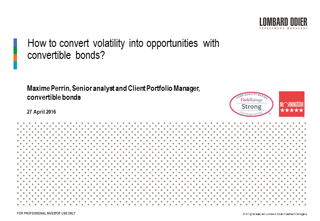How to convert volatility into opportunities with convertible bonds?