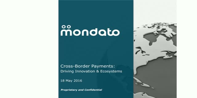 Cross-Border Payments: Fostering Innovation & Driving Ecosystems