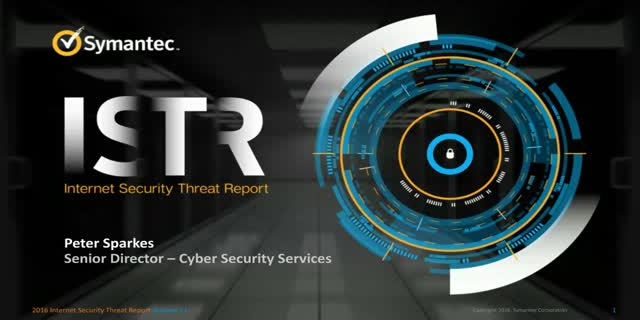 Symantec 2016 Internet Security Threat Report (APJ)