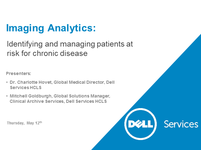 Imaging Analytics: Archived images can help identify and manage patients at risk