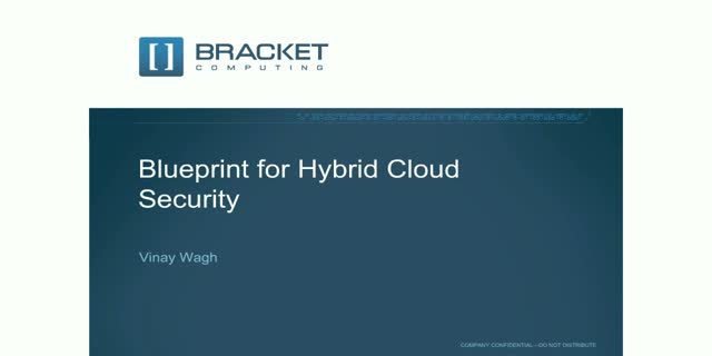 Blueprint for Hybrid Cloud Security