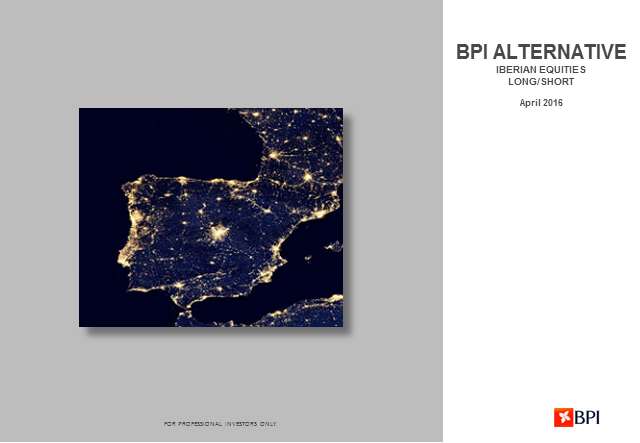 Quartely Review BPI Alternative Fund - Iberian Equities Long-short