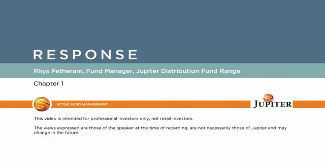 Response – Jupiter Distribution Fund Range (Chapter 1)