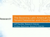 The Booming Latin American Multi-Tenant Datacenter and Cloud Markets
