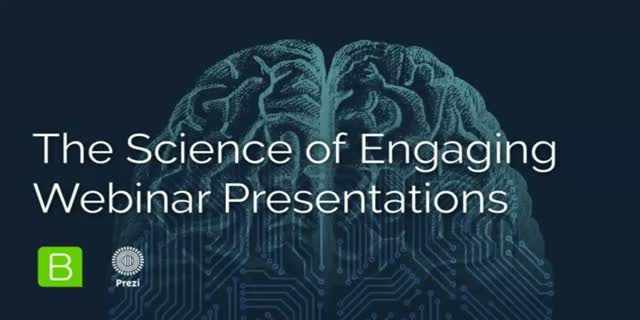 The Science of Engaging Webinar Presentations
