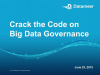 Webinar: Crack the Code on Big Data Governance