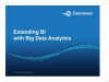 Webinar: Extending BI With Big Data Analytics