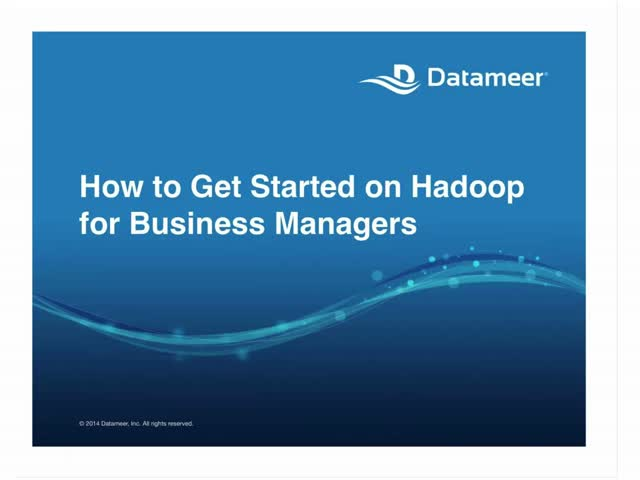 Webinar: Getting Started with Big Data for Business Managers