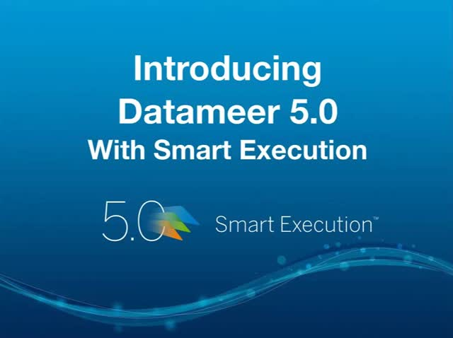 Webinar: Introducing Datameer 5.0 with Smart Execution