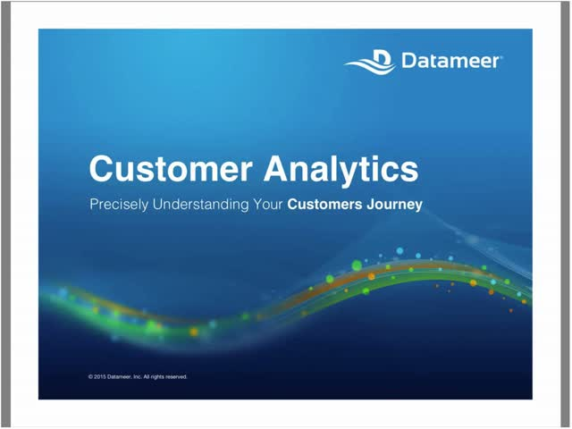 Webinar: Precisely Understanding Your Customers Journey