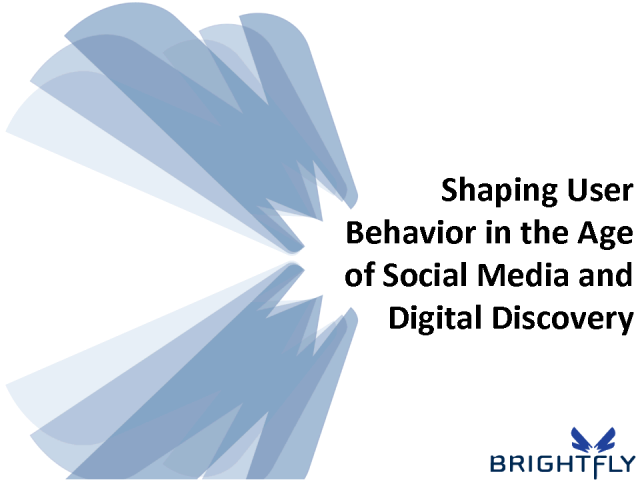 Shaping User Behavior in the Age of Social Media & Digital Disc.