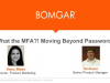 What the MFA?! Moving Beyond Passwords