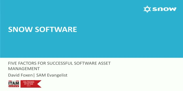 5 Steps for Implementing Software Asset Management (SAM)
