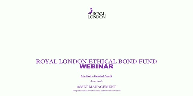 Ethical bond update