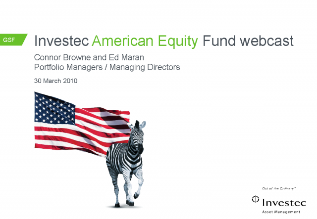 Investec American Funds
