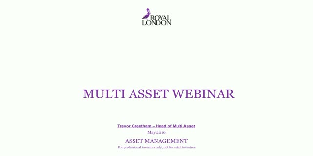 Quarterly multi asset update