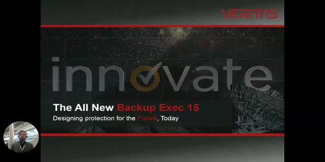 Backup Exec - The Trusted Recovery Solution