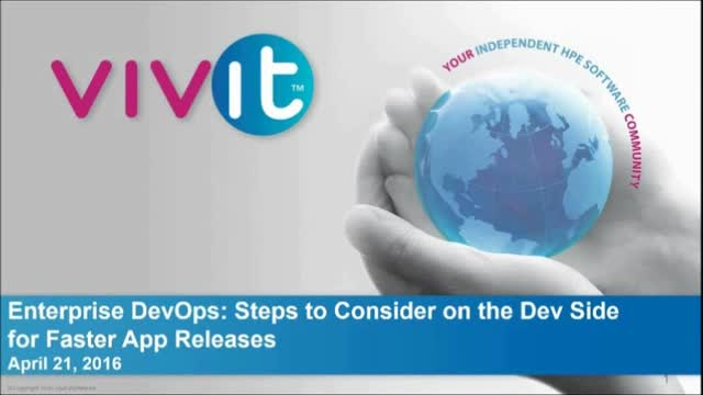 Enterprise DevOps: Steps to Consider on the Dev Side for Faster App Releases