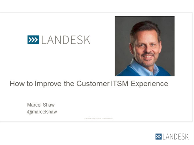 How to Improve the ITSM Customer Experience