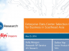Enterprise Data Center Selection Criteria for Business in Southeast Asia