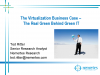 The Virtualization Business Case: The Real Green Behind Green IT
