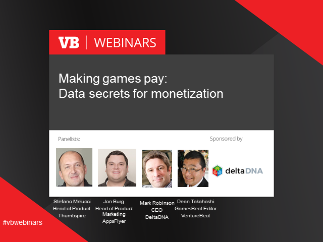 Making games pay: Data secrets for monetization