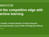 Get the competitive edge with machine learning