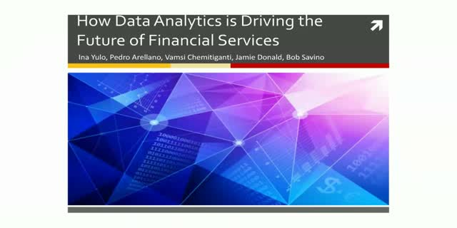 How Data Analytics is Driving the Future of Financial Services