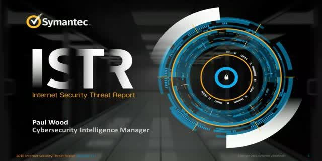 2016 Healthcare Internet Security Threat Report Highlights
