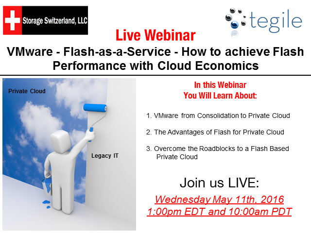 VMware - Flash-as-a-Service - Achieve Flash Performance with Cloud Economics