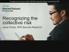 Recognizing the Collective Risk, HPE 2016 Cyber Risk Report