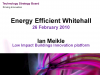 Energy Efficient Whitehall Webinar