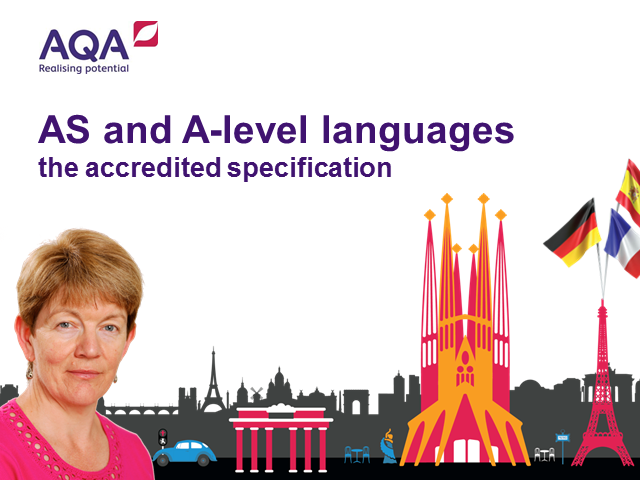AS and A-level languages: the accredited specification