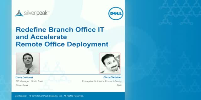 Redefine Branch Office IT and Accelerate Remote Office Deployment