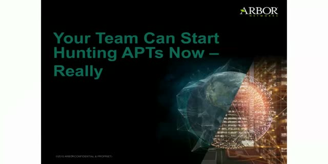 Your Team Can Hunt APTs Now, Really