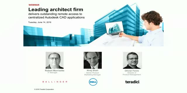 Leading architect firm delivers outstanding remote access to CAD applications