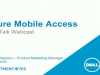 Dell SonicWALL's 'Secure Mobile Access' Raises the Bar!