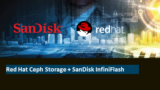 Red Hat Ceph Storage + SanDisk InfiniFlash