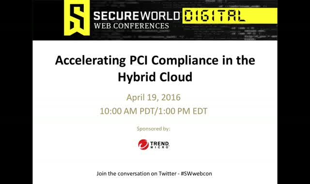 Accelerating PCI Compliance in the Hybrid Cloud