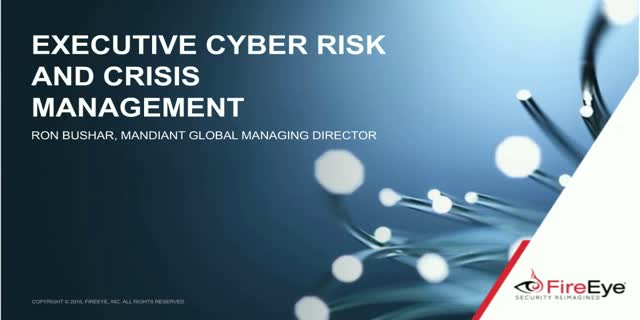 Cyber Risk Conversation: Security Trends & Best Practices