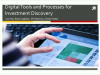 Digital tools and processes for investment discovery