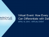 2016 Virtual Event How Every CIO Can Differentiate with Data