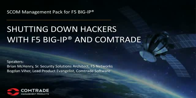Shutting down hackers with F5 BIG-IP and Comtrade 4438ca4c32