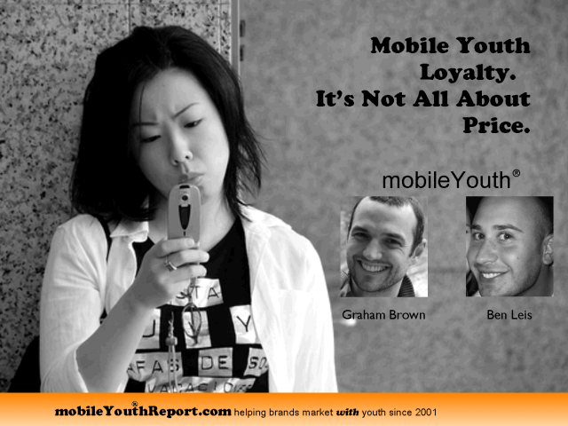 Loyalty and Youth Mobile Usage