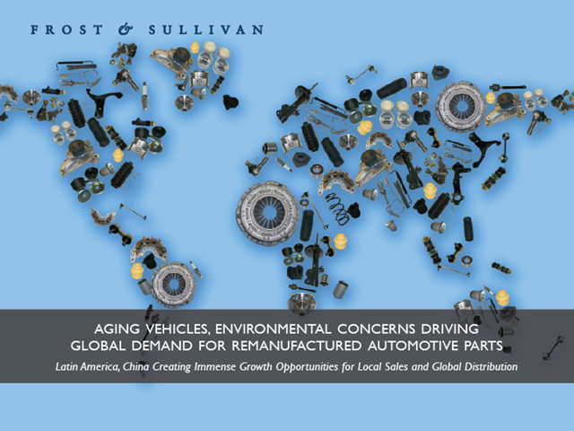 Aging Vehicles, Environmental Concerns Driving Global Demand for Remanufactured