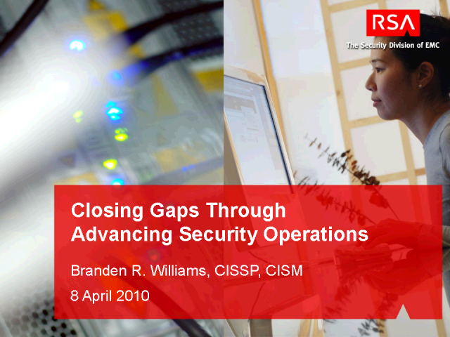 Closing the Gaps Through Advanced Security Operations