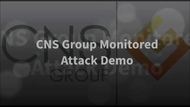 Attack Monitoring Demonstration