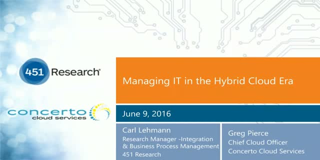 Managing IT in the Hybrid Cloud Era