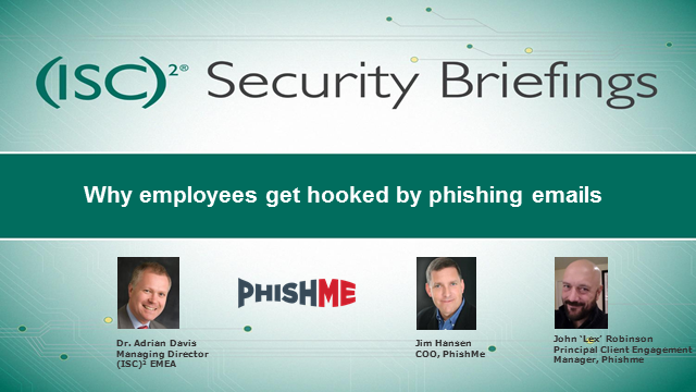 Phishing Awareness: Why employees get hooked by phishing emails